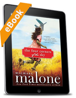 "In eReader: ""The Four Corners of the Sky"" by Michael Malone"