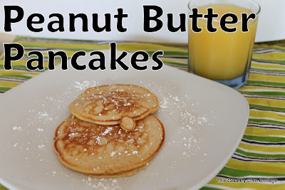 peanut butter, pancakes, recipe, breakfast