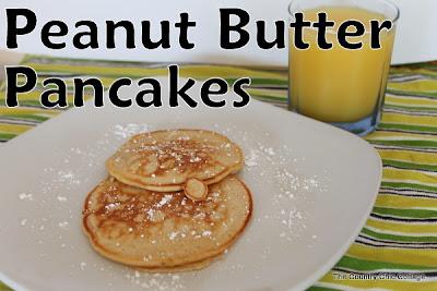 peanut butter, pancakes, recipe, breakfast