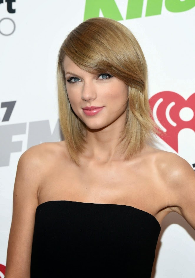 Taylor Swift attends the 2014 KIIS FM Jingle Ball in LA