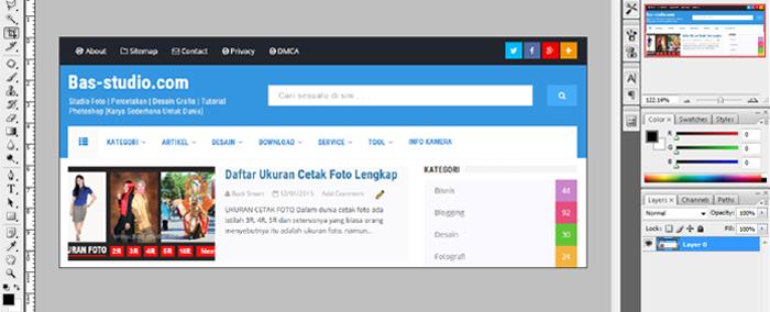 mencari kode warna blog