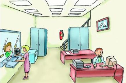 Seguridad e higiene en la oficina 4 la ergonom a y el for Mobiliario ergonomico
