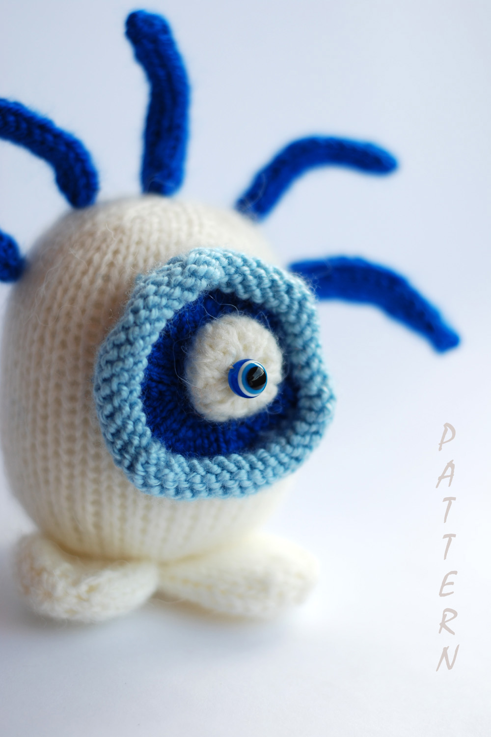denizas knitted toys patterns blue eye sweet and funny