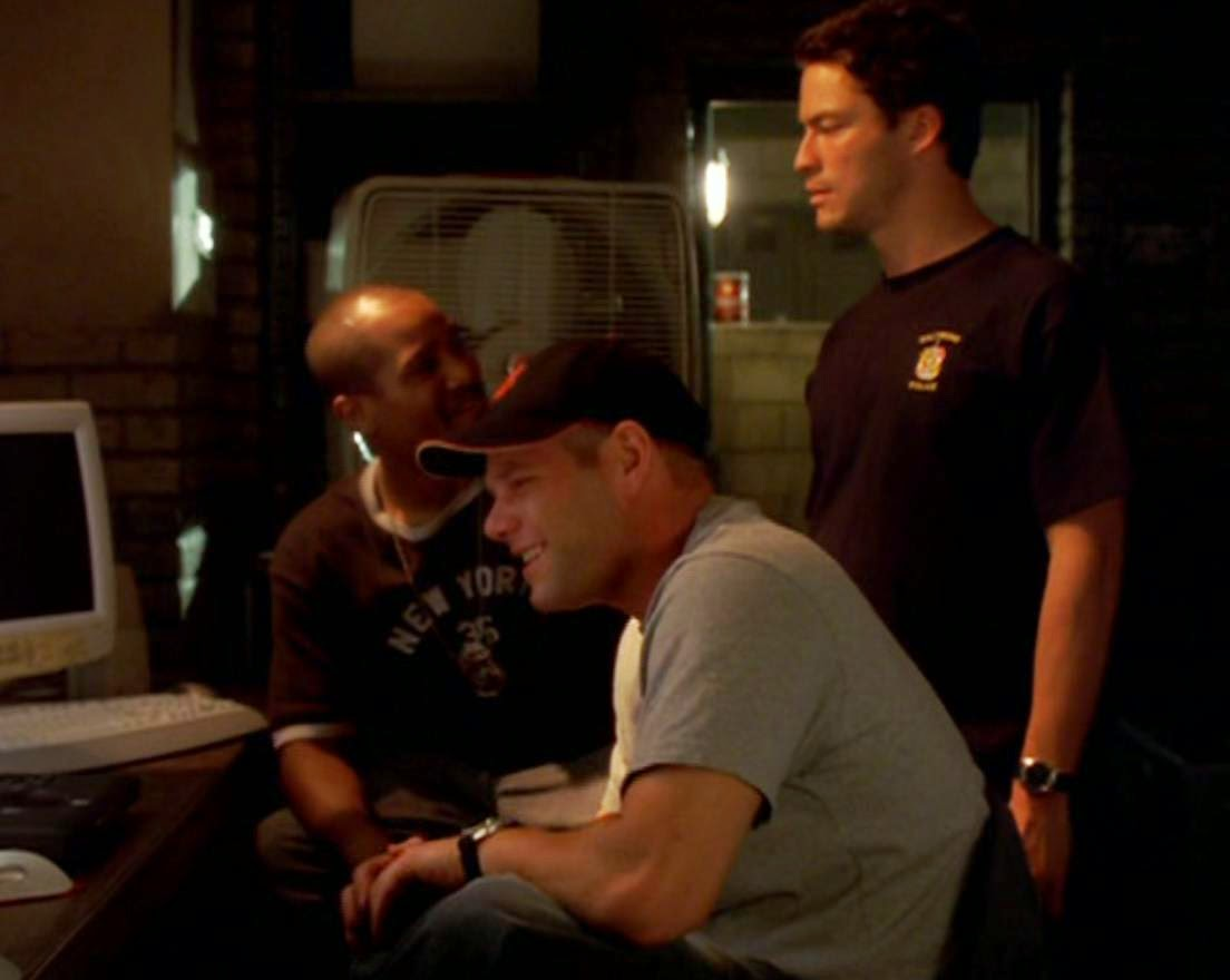 Policias The Wire McNulty irlandes Baltimore