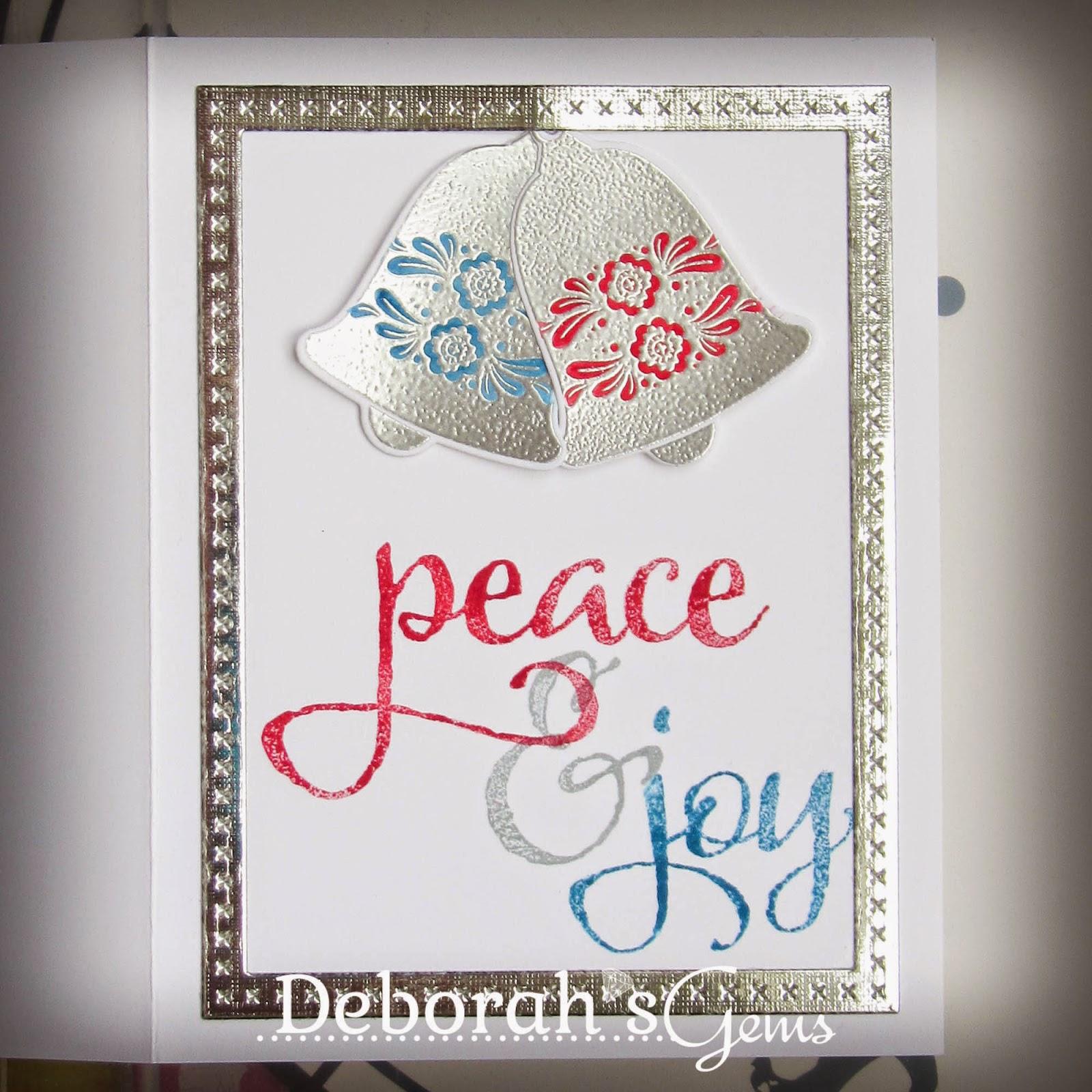 Peace & Joy sq - photo by Deborah Frings - Deborah's Gems