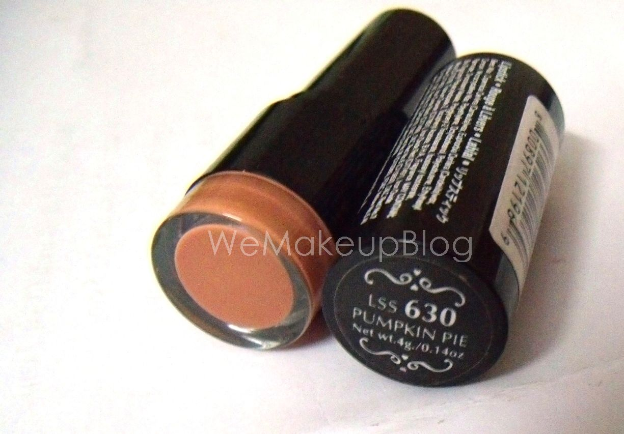 We MakeUp: NYX Round Lipstick in Pumpkin Pie: A Review