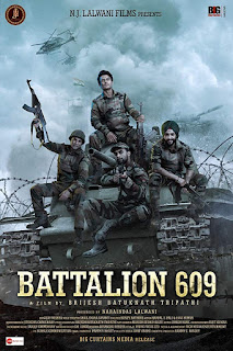 Battalion 609 (2019) Hindi Movie Pre-DVDRip | 720p | 480p