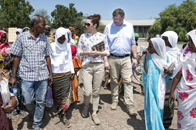 Crown Princess Mary visit Ethiopia (Day 2)