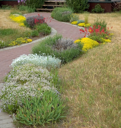 Brick Edging For Your Flower Beds6