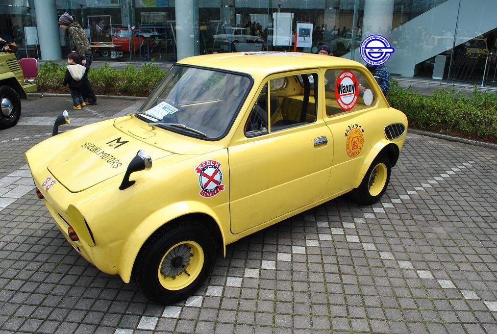 Suzuki Fronte LC10, małe sportowe samochody, klasyczne auta, motoryzacja z lat 60, JDM, レース、自動車競技、軽自動車、スポーツカー、クラシックカー