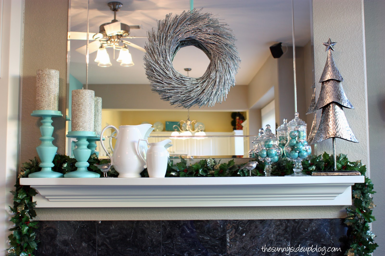Christmas Mantel Ideas. 100 Pictures Of Christmas Decorated Fireplaces  Fireplace De