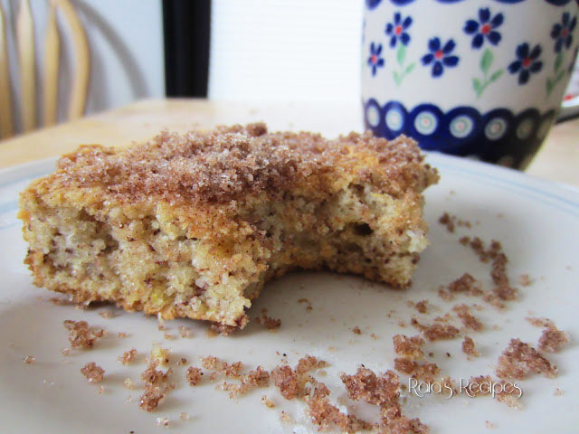Lightly Lemon Coffee Cake by Raia's Recipes