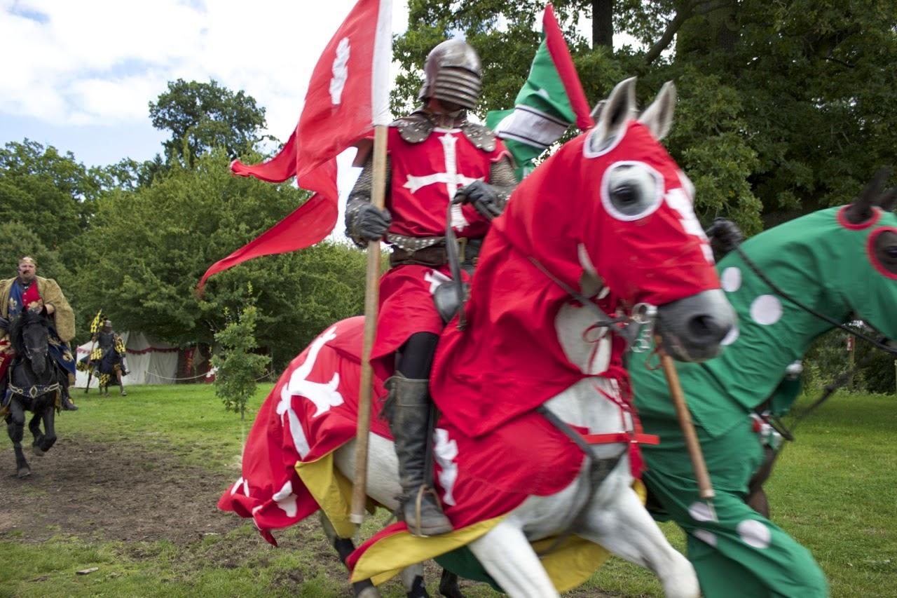 Warwick Castle Medieval Knight
