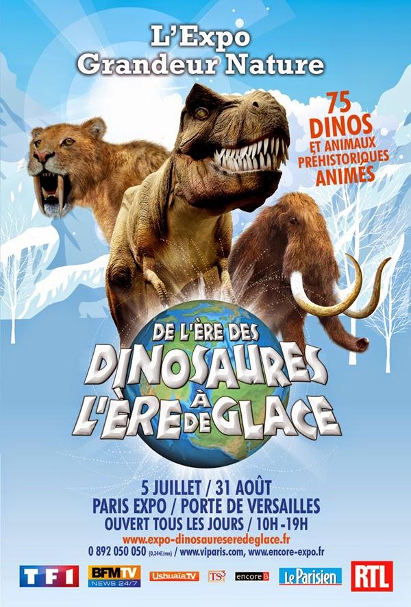 Chair de poule a voir l 39 exposition l 39 re des dinosaures d barque la porte de versailles - Porte de versailles animaux ...