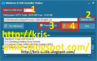 Install Ulang Windows 8 (ISO File) Dengan Flashdisk OM Kris Blog