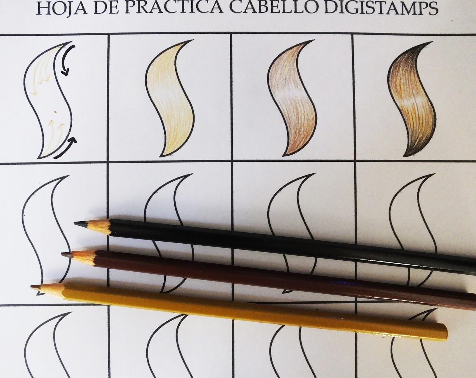Bonito Hoja Para Colorear De Lápices De Colores Festooning - Dibujos ...