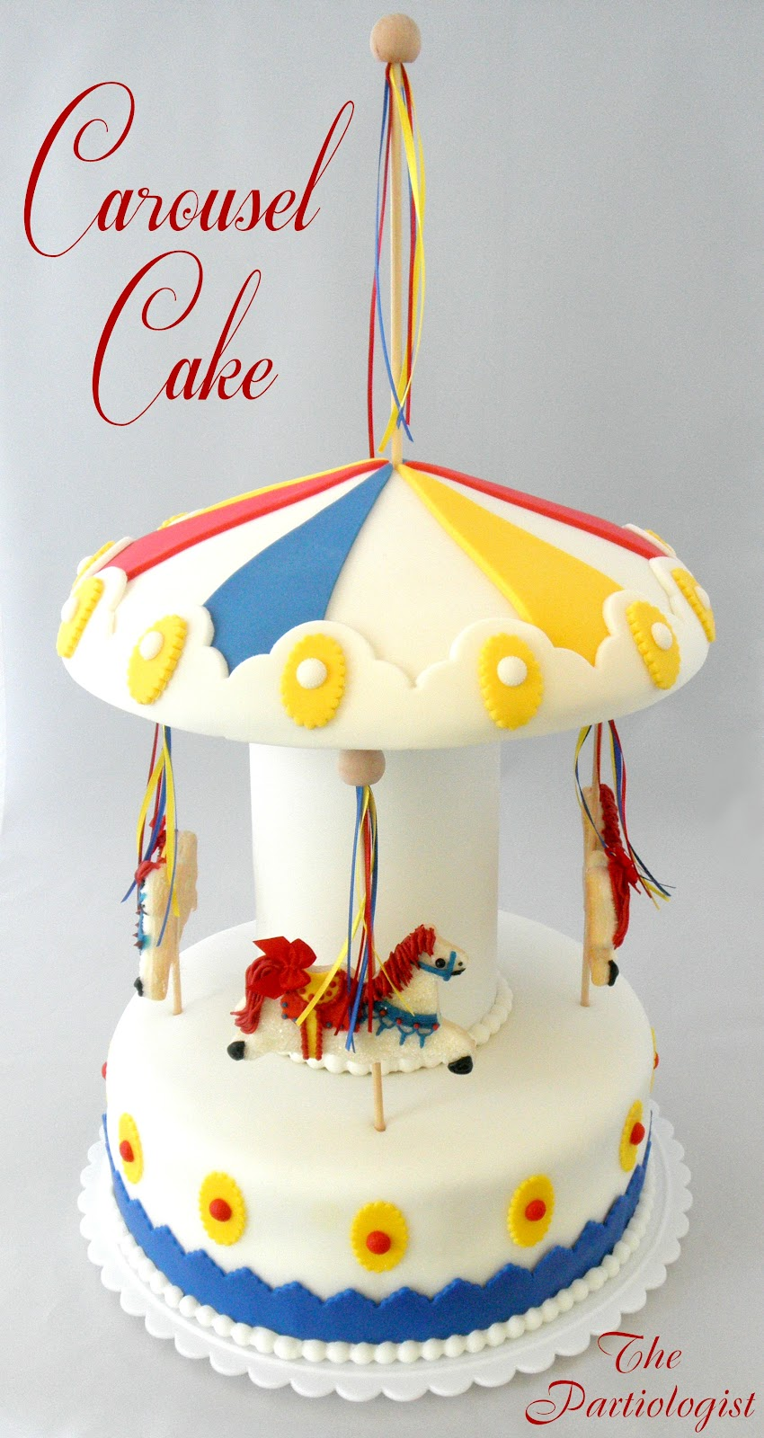The Partiologist Carousel Cake