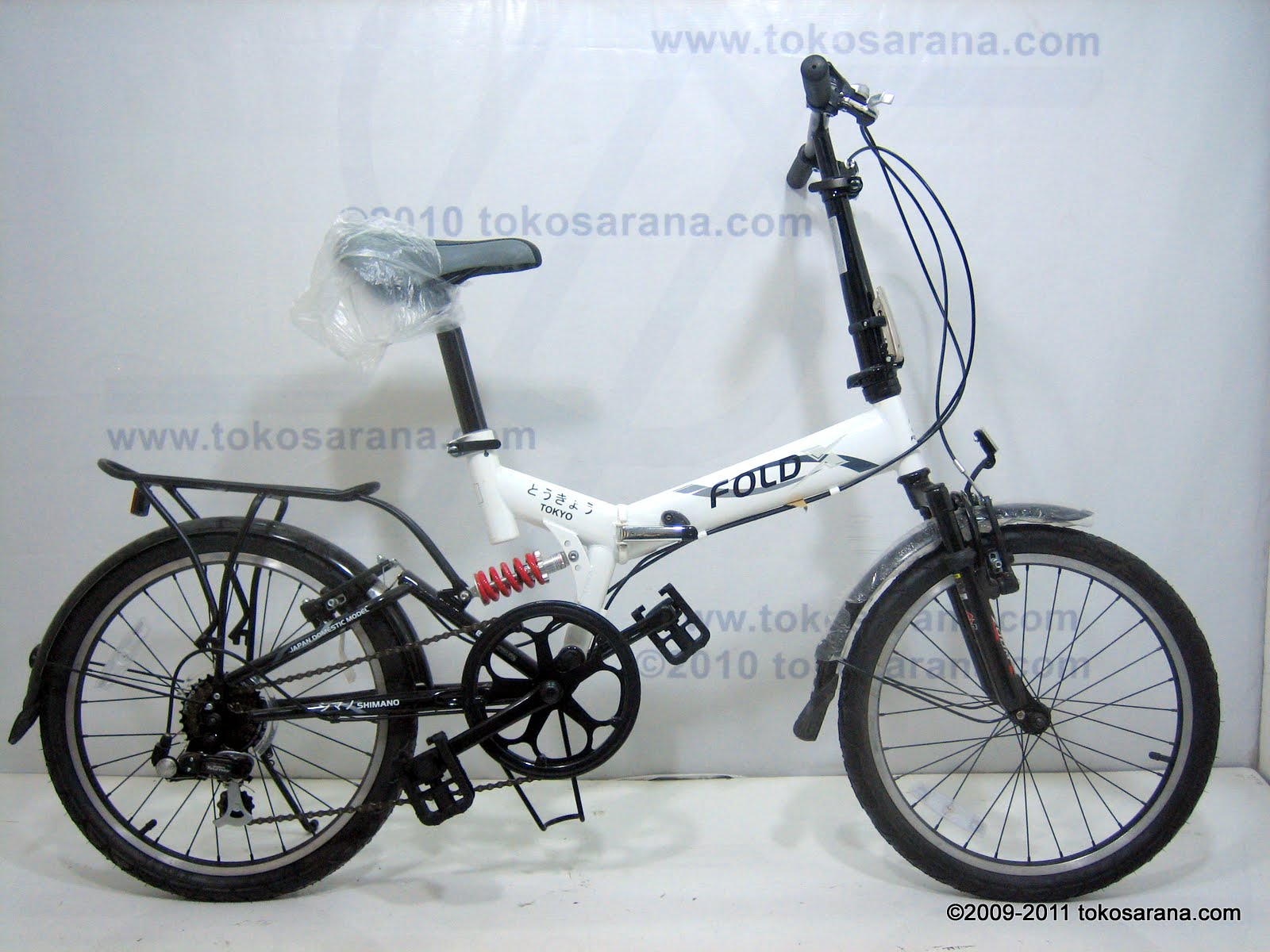 GOES BIKE: Sepeda Lipat FOLD-X TOKYO Dual Suspensi 20 Inch