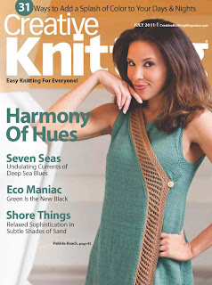 Creative Knitting July 2011