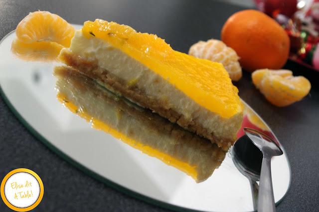 beau Cheesecake citron mandarine