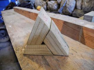 Montaje de un triángulo