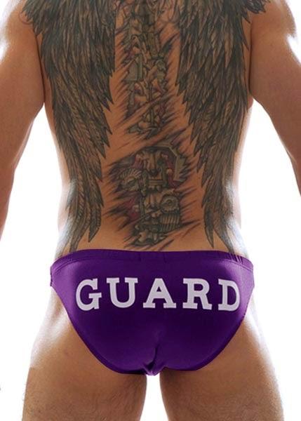 GBGB Wear GUARD Swim Bikini Purple