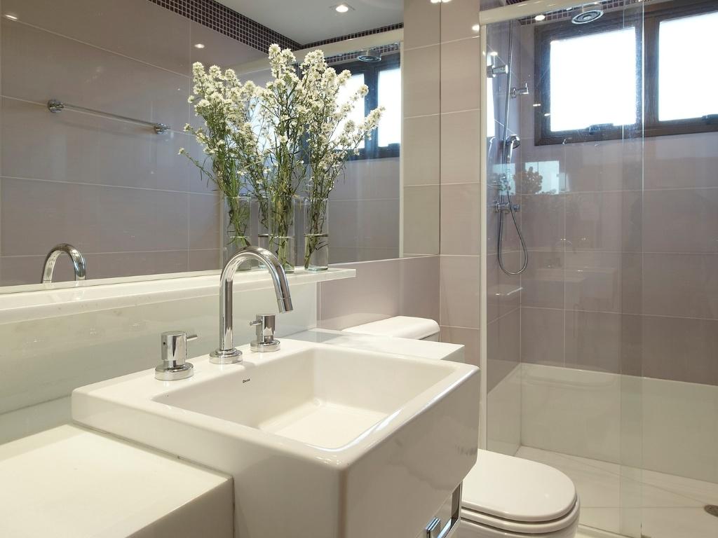 Minha Casa Clean Ajuda para paginação banheiro de menina -> Banheiro Clean Com Pastilha