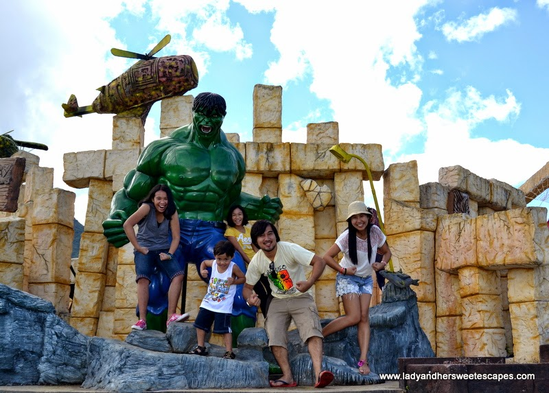 The Hulk at Campuestohan Highland Resort