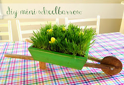 diy mini wheelbarrow