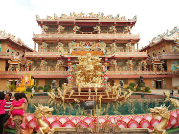 Naja Temple (Li Na Cha) - Siracha, Thailand
