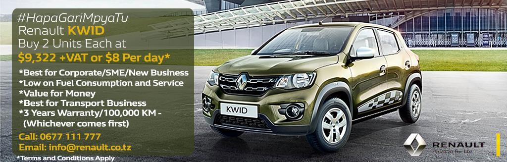 Renault Kwid Promotion