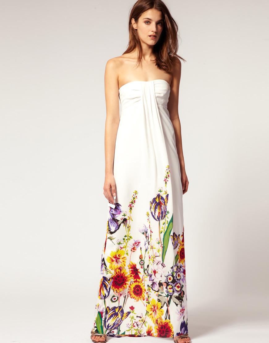 Bright smile maxi dresses i love for Maxi dress a summer wedding