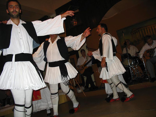 Greek traditional dancing
