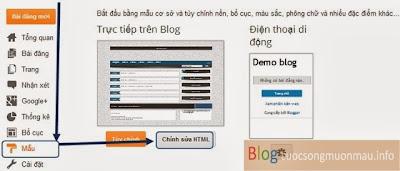 Giao diện tin tức cực đẹp cho blogspot