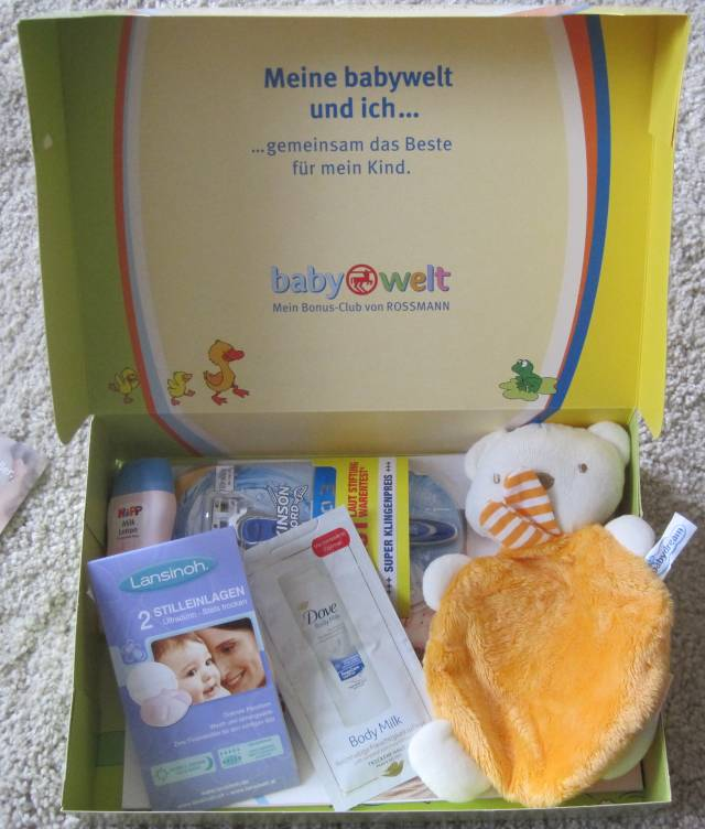Rossmann babywelt geburtstagsgeschenk