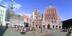 Piazze a Riga in Lettonia (foto ap)