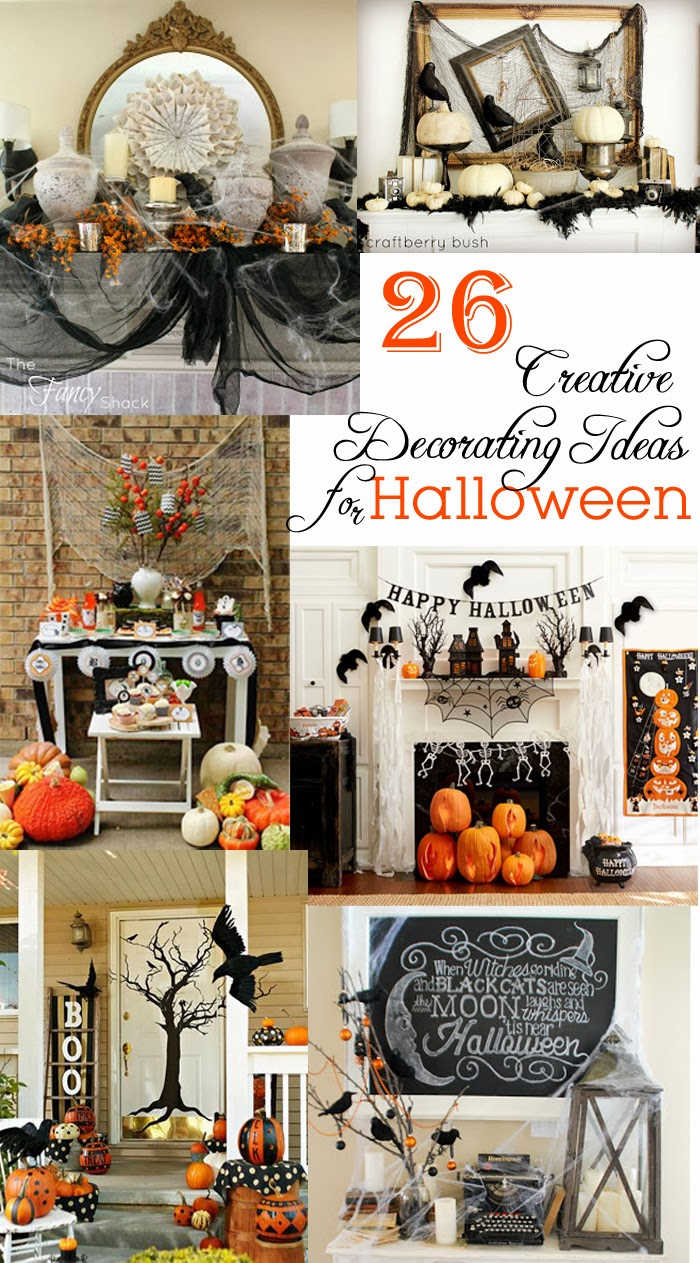 anderson + grant: 26 Creative Decorating Ideas for Halloween - Creative Halloween Decorations