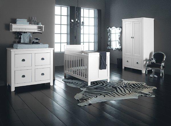 Habitaci n de bebe color gris dormitorios con estilo for Idee deco chambre bebe grise