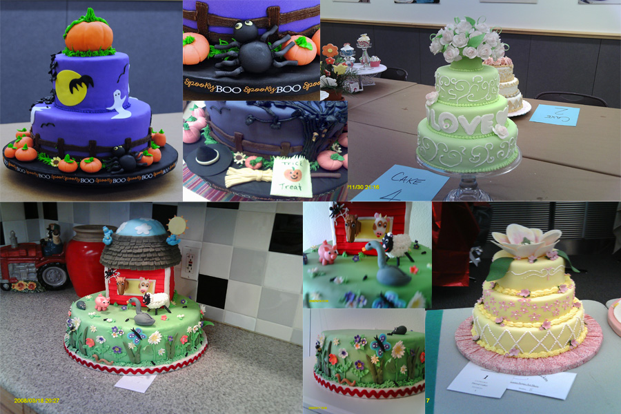 Cake Decorating Competition Show : Beautifully Embellished Cakes: Where do competition cakes ...