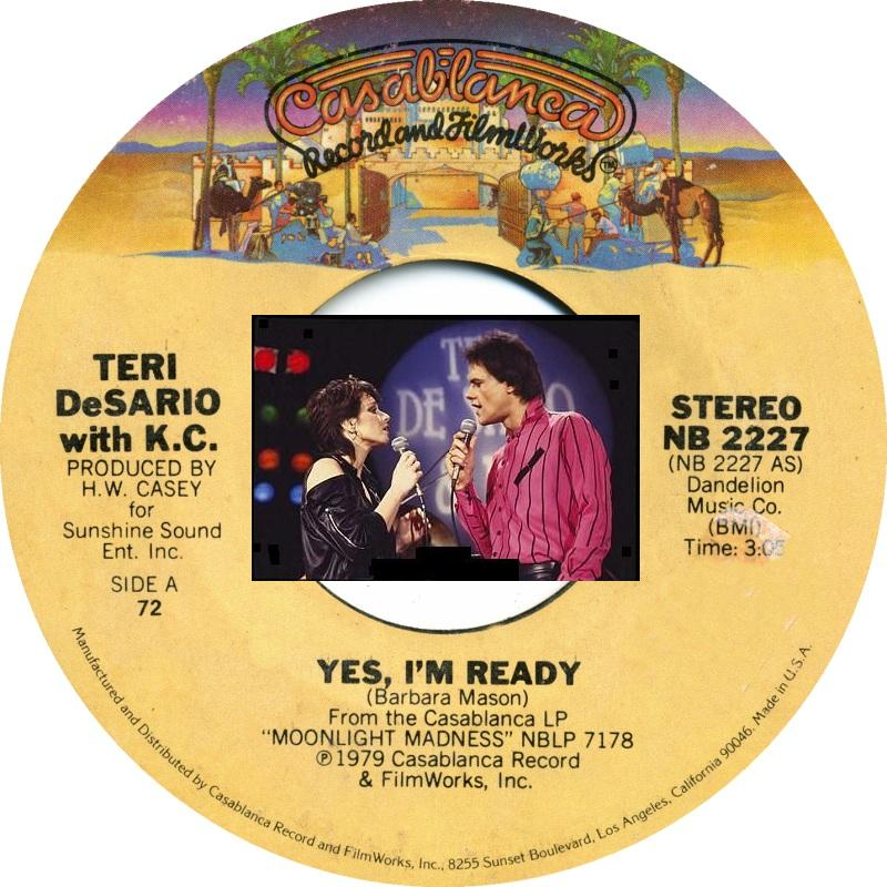 Teri Desario - Yes, I'm Ready / With Your Love
