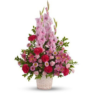 Order a Funeral Basket of Flowers