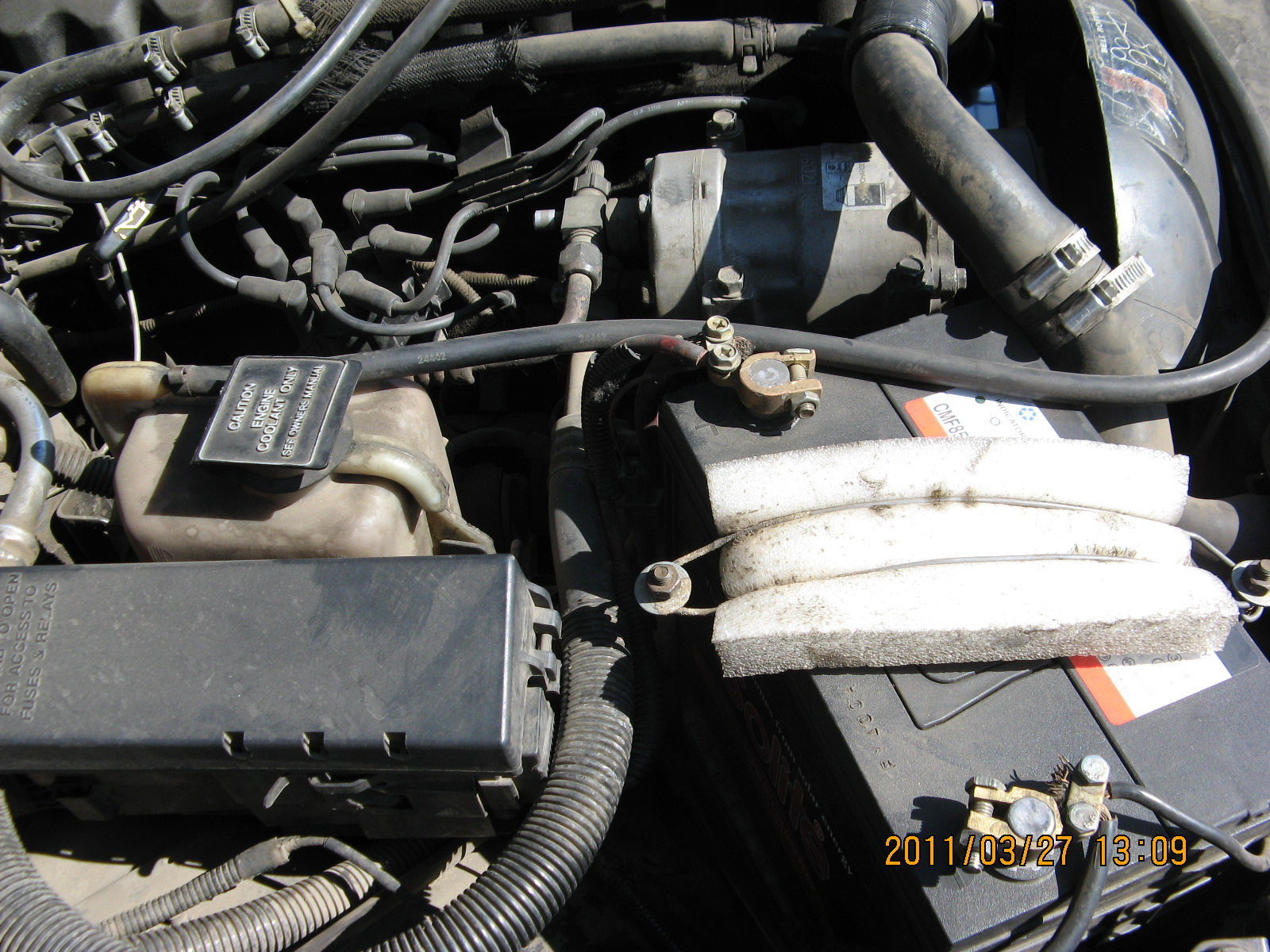 My 91 Cherokee XJ Battery cable upgrade