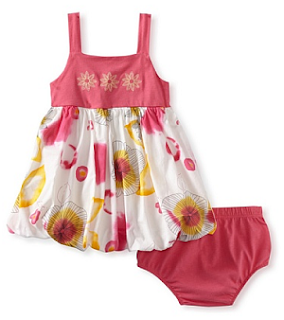 MyHabit: Up to 60% off Baby Nay: Bubble Dress with Bloomer Set - A bubble construction gives added cuteness to this set