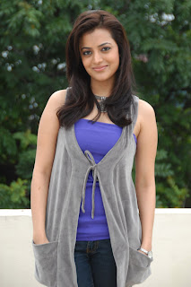 Nisha Agarwal Spicy In Blue Dress Pictures