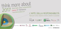 """Con il convegno su """"L'arte della responsabilità"""" approda a Lecco l'evento internazionale """"Think Mor"""