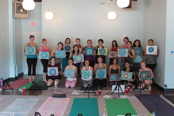 ARTOGA, ARTOGA DC, yoga, painting, yogi, namaste, yoga and painting, yoga class, Extend Yoga, Bethesda, Maryland