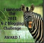 A-Z Blogging Challenge Award