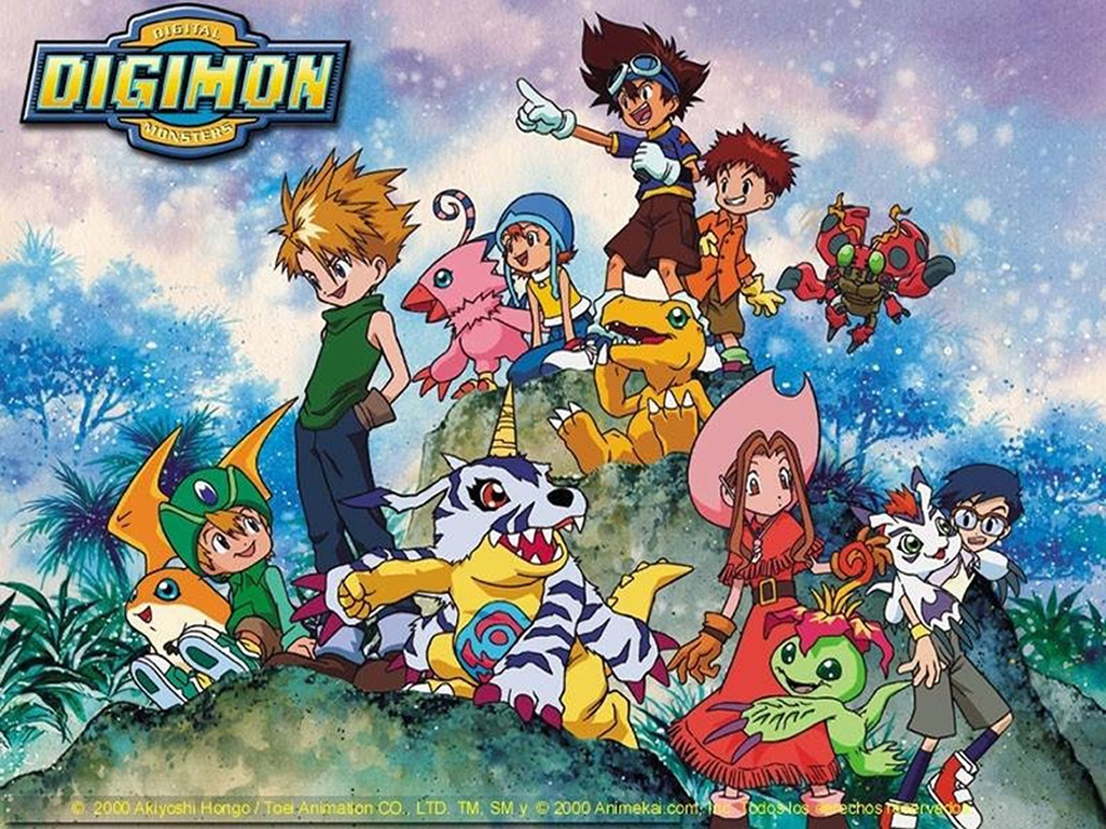 Animes Clássicos: Digimon