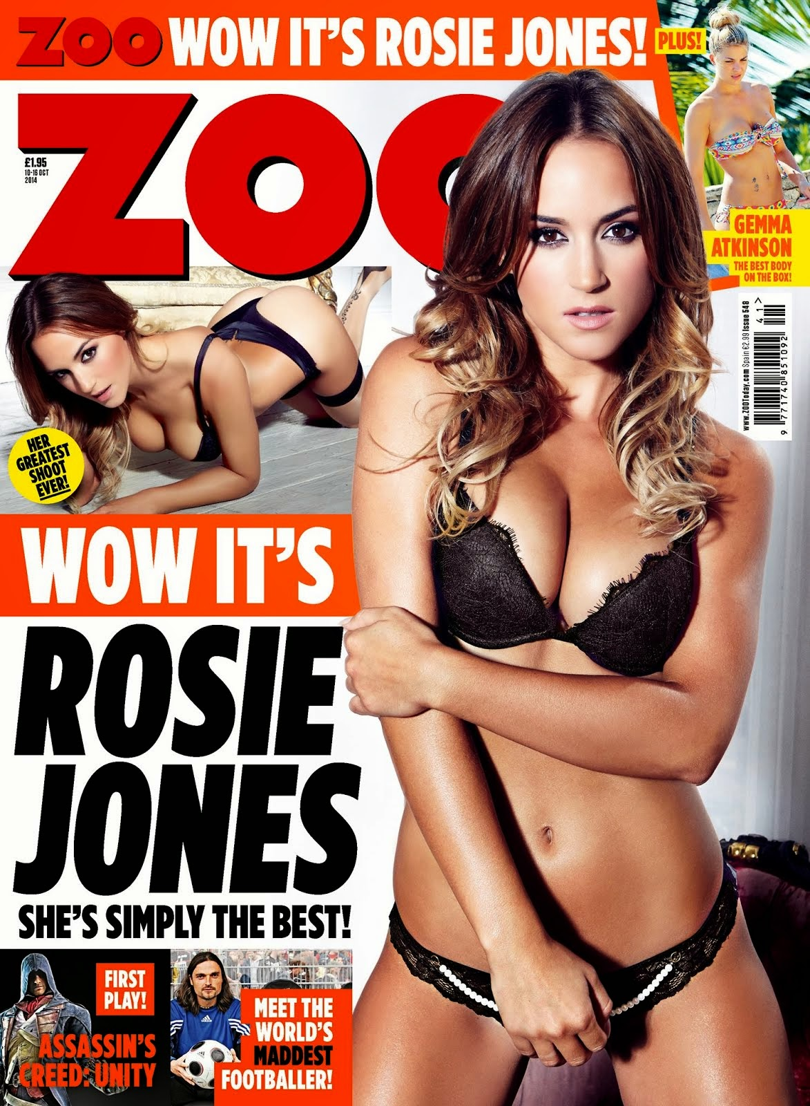 Rosie Jones en ZOO 2014