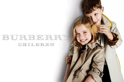 Burberry Children Campaign 2012